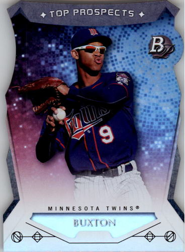 Photo of 2014 Bowman Platinum Top Prospects Die Cuts #TPBB Byron Buxton