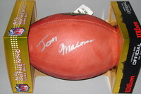 NFL - BENGALS JOSH MALONE SIGNED AUTHENTIC FOOTBALL