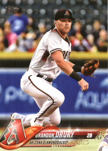 Photo of 2018 Topps #141 Brandon Drury