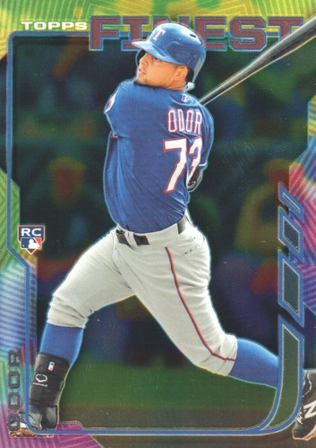 Photo of 2014 Finest #40 Rougned Odor Rookie Card