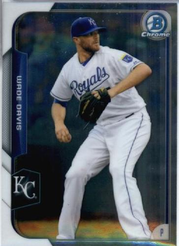 Photo of 2015 Bowman Chrome #69 Wade Davis