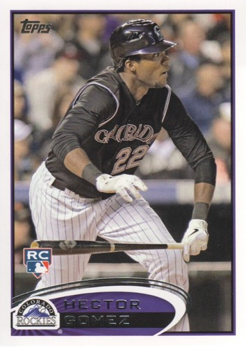 Photo of 2012 Topps #534 Hector Gomez RC