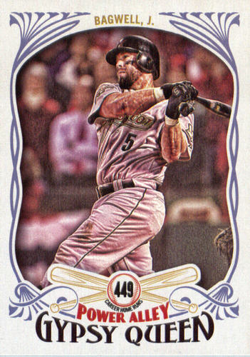 Photo of 2016 Topps Gypsy Queen Power Alley #PA28 Jeff Bagwell