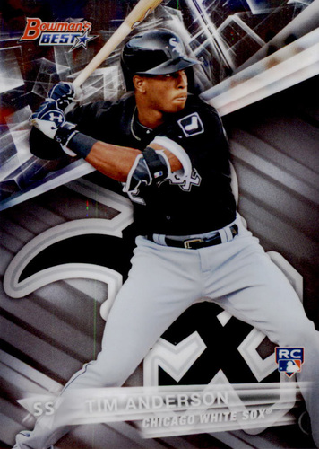 Photo of 2016 Bowman's Best #42 Tim Anderson Rookie Card