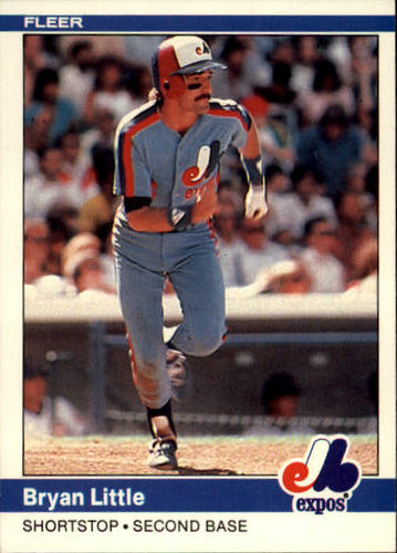 Photo of 1984 Fleer #279 Bryan Little