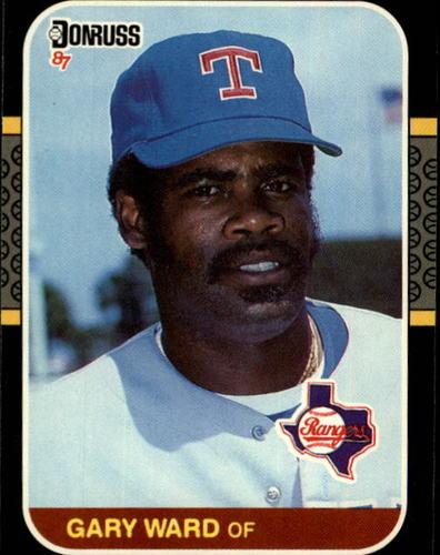Photo of 1987 Donruss #427 Gary Ward