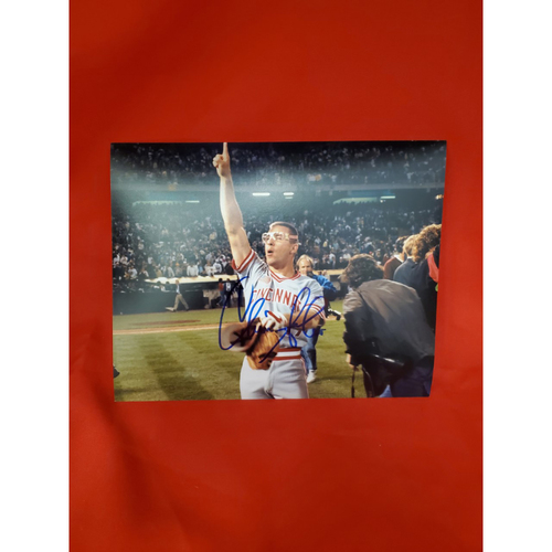 Photo of Chris Sabo Autographed Photo (pointing in color)
