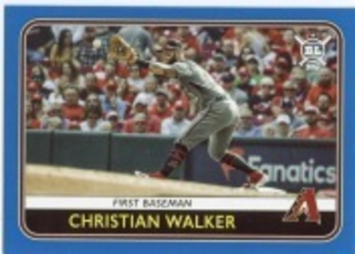 Photo of 2020 Topps Big League Blue #152 Christian Walker