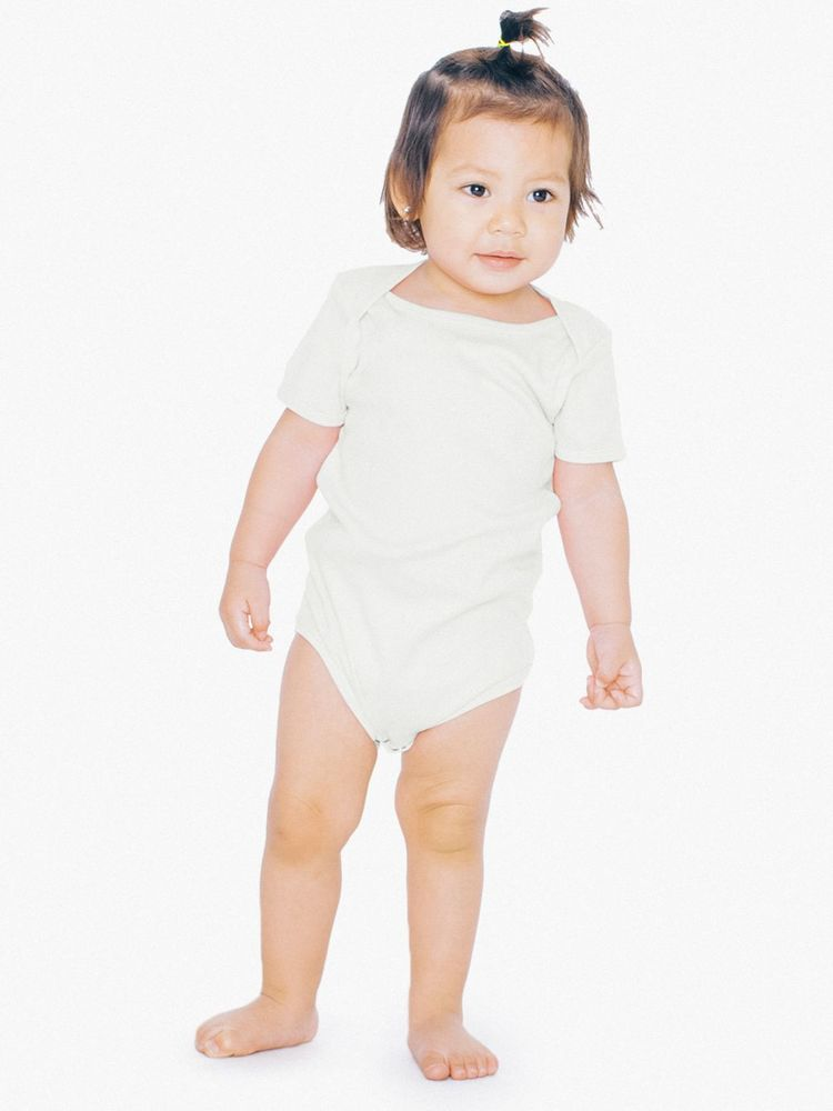 Photo of American Apparel Infant Organic Baby Rib One-Piece