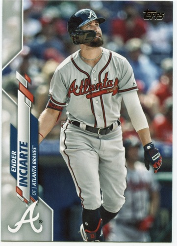 Photo of 2020 Topps #529 Ender Inciarte