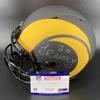 NFL - Rams Eclipse Helmet Signed by Jalen Ramsey and Aaron Donald