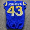 Crucial Catch - Rams John Johnson Game Used Jersey (10/26/20) Size 38