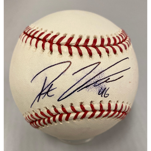 Photo of Giants Community Fund - Smudged Autographed Baseball signed by Pat Venditte