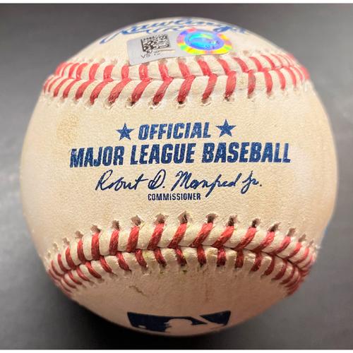 Photo of Game-Used Baseball:  Jarrod Dyson Kansas City Royals Double (MLB AUTHENTICATED)