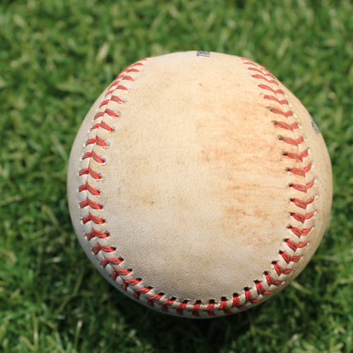 Photo of Game-Used Baseball: Rowdy Tellez 145th Career Hit (TOR@KC 4/17/21 Game 2)