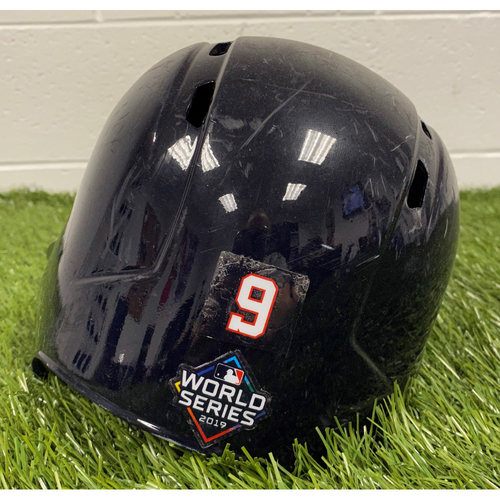 Photo of Brian Dozier Helmet with World Series Decal