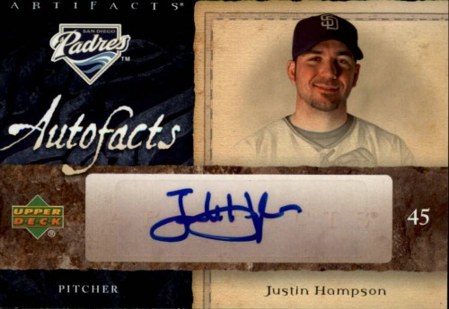 Photo of 2007 SPx Autofacts Preview #JH Justin Hampson