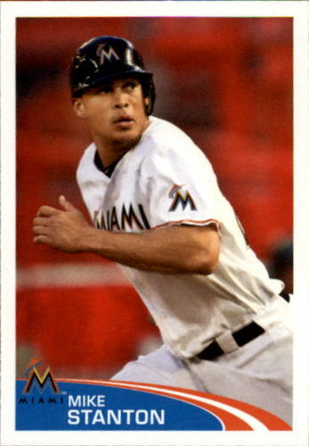 Photo of 2012 Topps Stickers #170 Mike Stanton