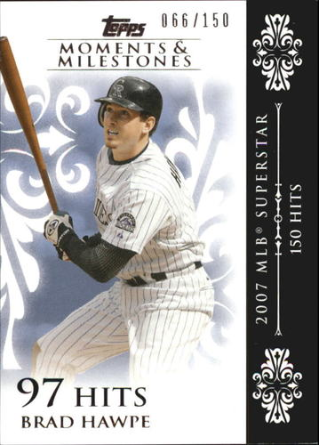 Photo of 2008 Topps Moments and Milestones #101-97 Brad Hawpe