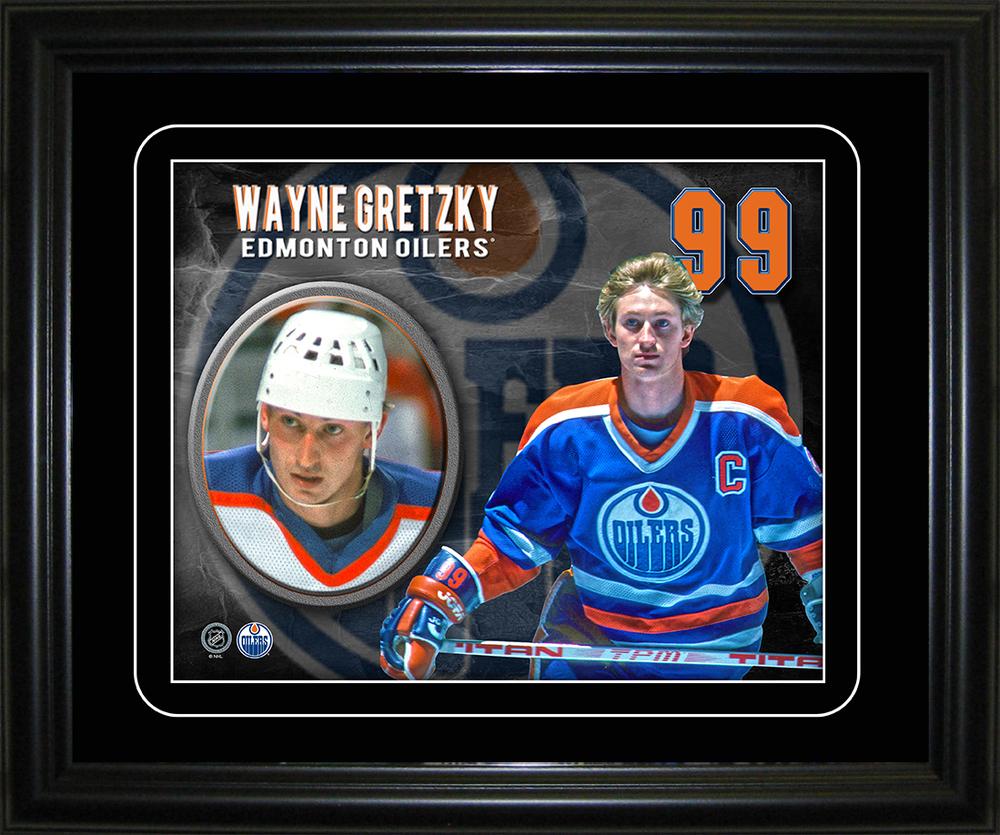 Wayne Gretzky - Framed 10x13