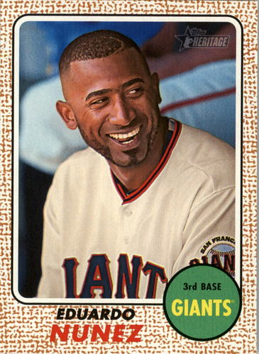 Photo of 2017 Topps Heritage #44 Eduardo Nunez