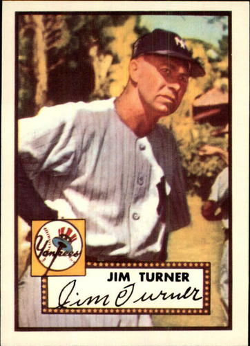 Photo of 1983 Topps 1952 Reprint #373 Jim Turner CO