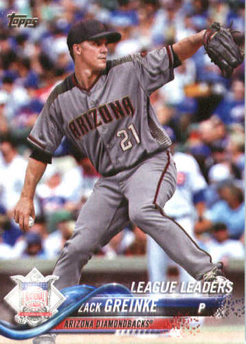 Photo of 2018 Topps #146 Zack Greinke LL