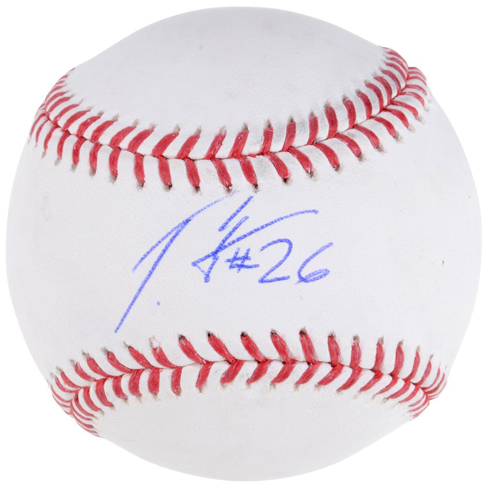 Patrik Elias New Jersey Devils Autographed Baseball - NHL Auctions Exclusive