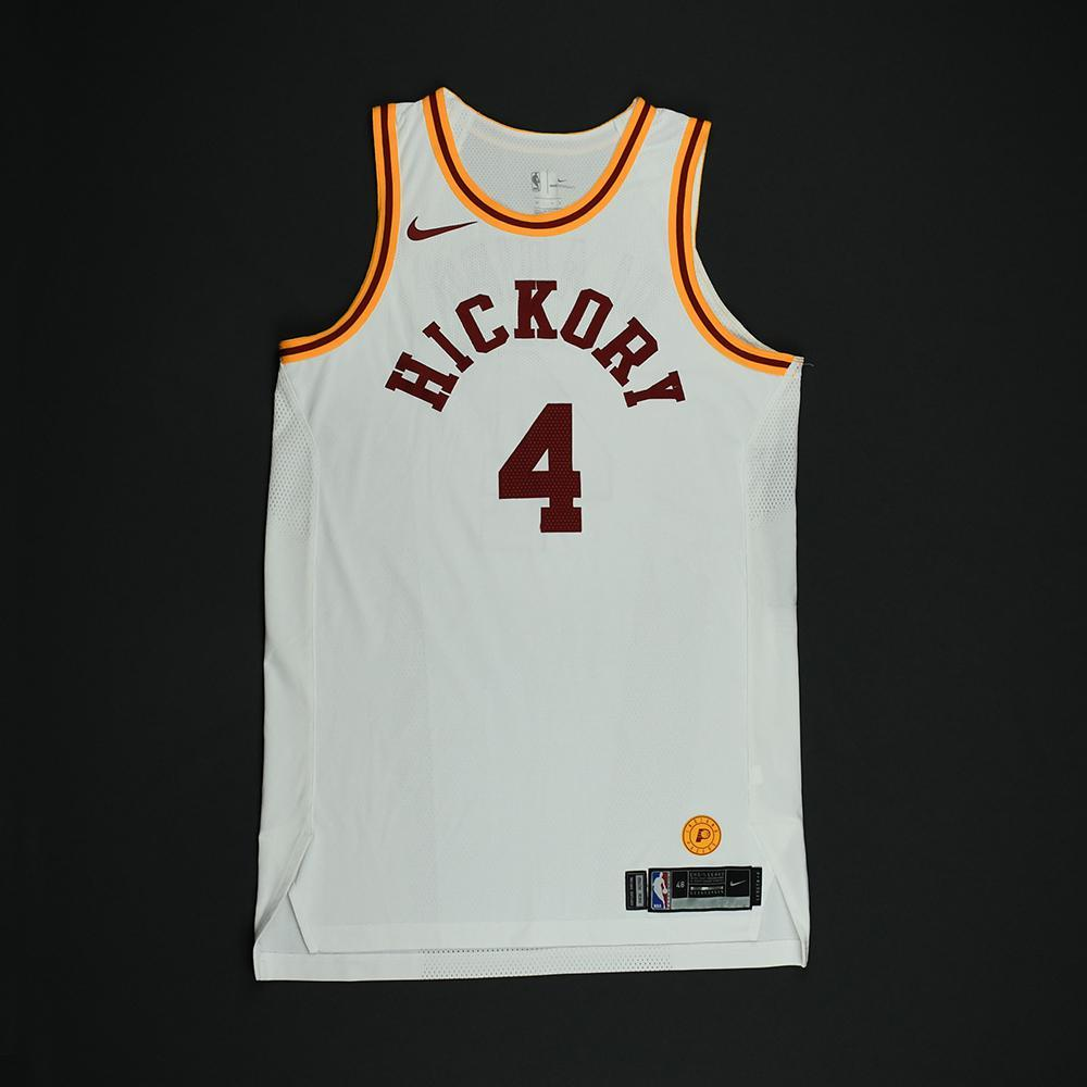 Victor Oladipo - Indiana Pacers - 1986 Hoosiers Movie - '1954-55 Hickory Road' Classic Edition Game-Worn Jersey