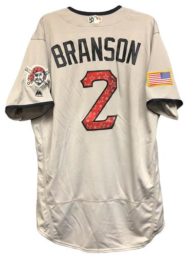 Photo of Jeff Branson Game-Used Stars & Stripes Jersey
