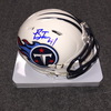 NFL - Titans Brynden Trawick signed Titans mini helmet