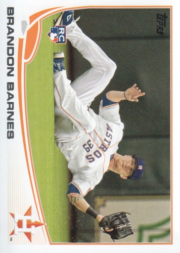 Photo of 2013 Topps #654 Brandon Barnes RC