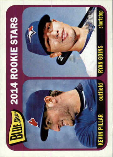 Photo of 2014 Topps Heritage #421 Kevin Pillar RC/Ryan Goins RC
