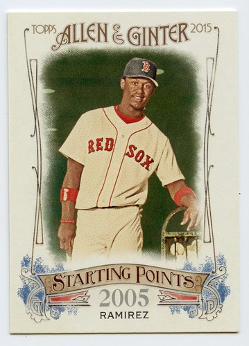 Photo of 2015 Topps Allen and Ginter Starting Points #SP13 Hanley Ramirez