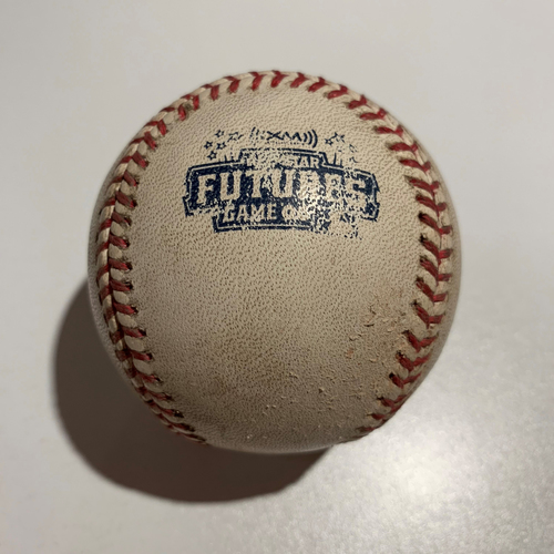 Photo of 2006 Futures Game - Game Used Baseball - Batter: Cameron Maybin Pitcher: Carlos Carrasco - Foul Ball