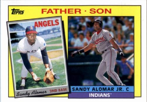 Photo of 2016 Topps Archives '85 Father Son #FSAL Sandy Alomar Jr./Sandy Alomar Sr.