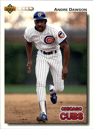 Photo of 1992 Upper Deck #124 Andre Dawson