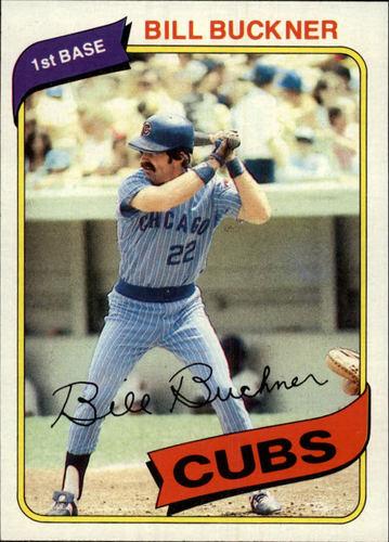 Photo of 1980 Topps #135 Bill Buckner
