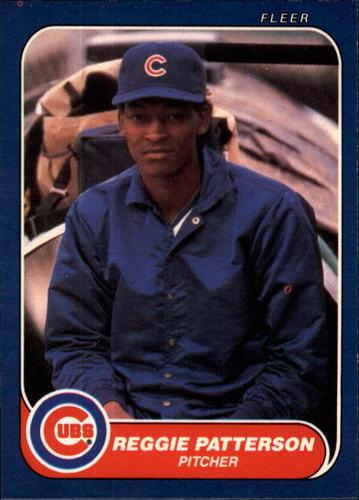 Photo of 1986 Fleer #376 Reggie Patterson