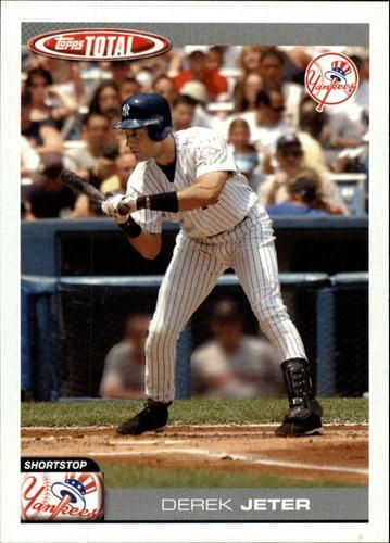 Photo of 2004 Topps Total #600 Derek Jeter