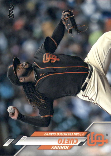 Photo of 2020 Topps #185 Johnny Cueto