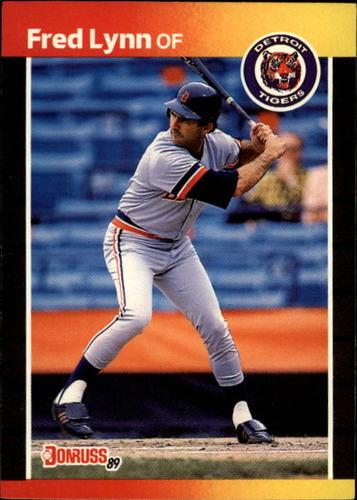 Photo of 1989 Donruss #563 Fred Lynn DP