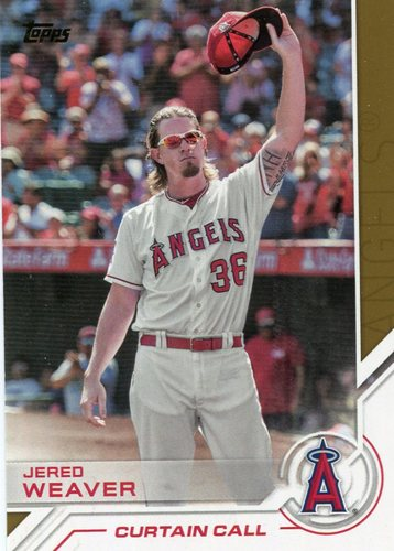 Photo of 2017 Topps Salute #S165 Jered Weaver