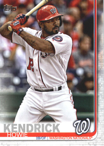 Photo of 2019 Topps #610 Howie Kendrick