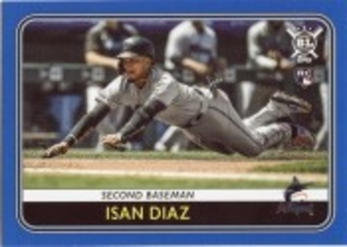 Photo of 2020 Topps Big League Blue #169 Isan Diaz