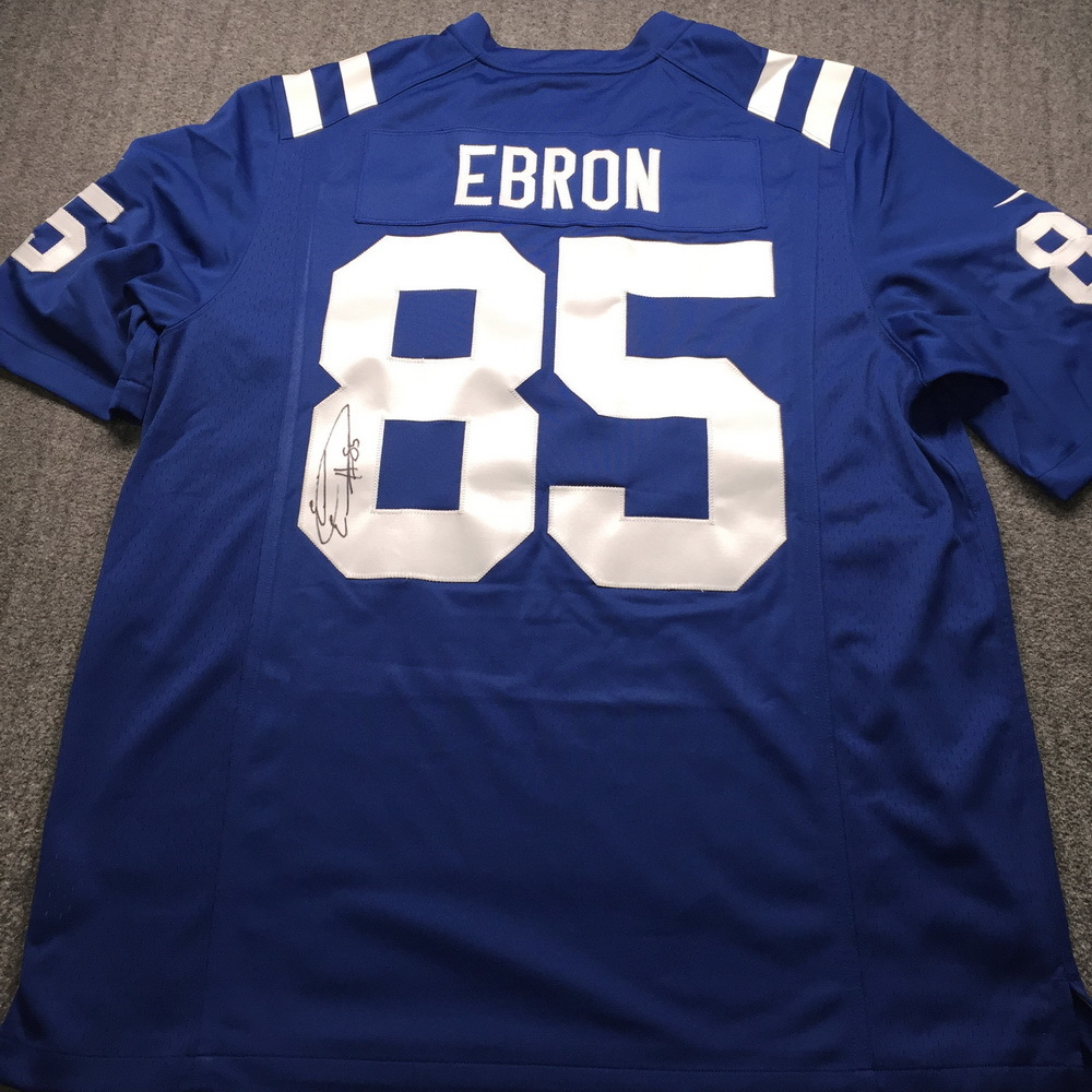 NFL - Colts Eric Ebron Signed Jersey XL