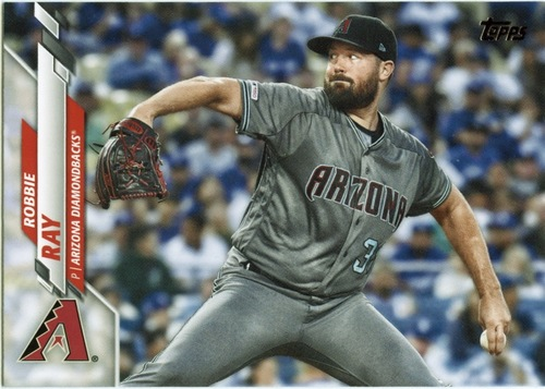 Photo of 2020 Topps #532 Robbie Ray