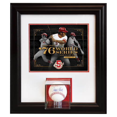 Photo of Johnny Bench Home Run Collection - Career Postseason Home Run #9: October 21, 1976