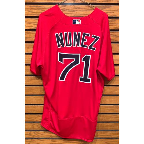 Nunez Team Issued 2020 spring Training Jersey