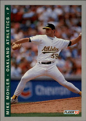 Photo of 1993 Fleer Final Edition #258 Mike Mohler RC